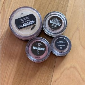 Four bare minerals loose eyeshadow